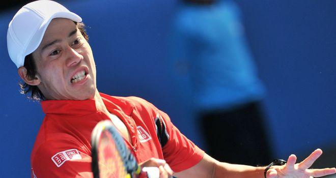 Kei Nishikori: Injury setback