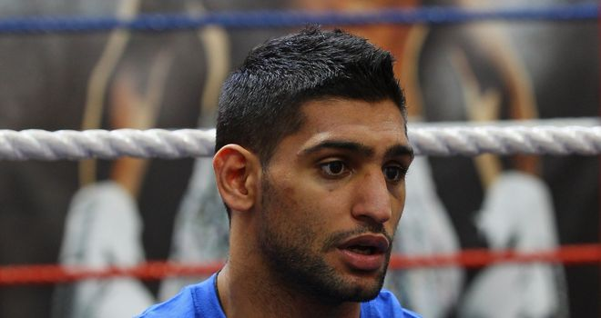 Khan: ringside controversy could see him get a rematch with Peterson