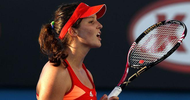 Laura Robson: Overcame Alexandra Panova in straight sets