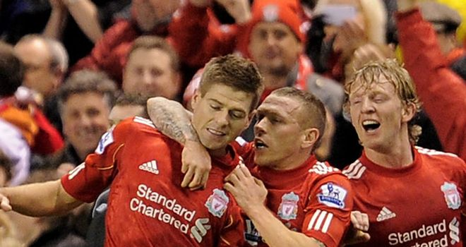 Steven Gerrard: Full of praise for Craig Bellamy after Liverpool's Carling Cup triumph