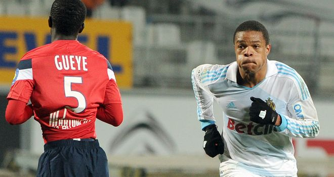 Loic Remy: Scored twice as Marseille defeated Lille at the Stade Velodrome