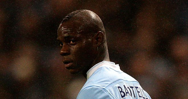 Mario Balotelli: Facing a four-match ban after alleged stamp on Scott Parker
