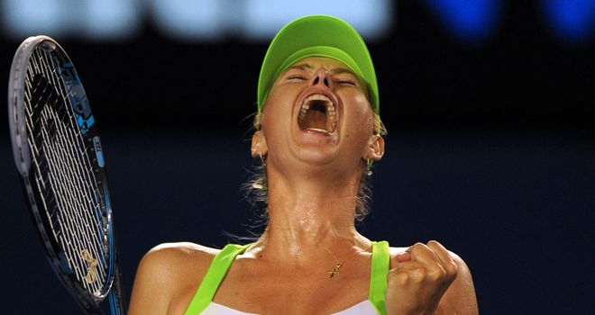 Maria Sharapova: Has lost twice to Victoria Azarenka in finals
