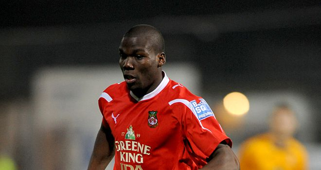 Mathias Pogba: Looking forward to playing in League One after joining Crewe from Wrexham