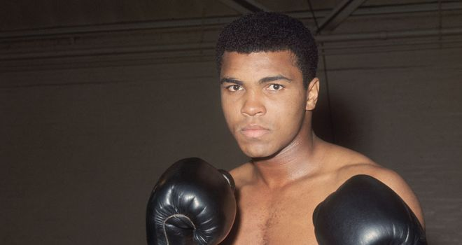 Muhammad Ali: Honoured with Liberty Medal
