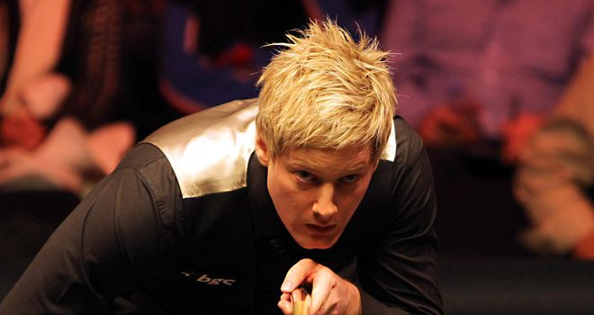 Neil Robertson: Out of the Australian Goldfields Open