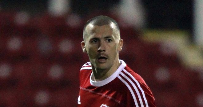 Paul Caddis: Named in League Two PFA Team of the Year