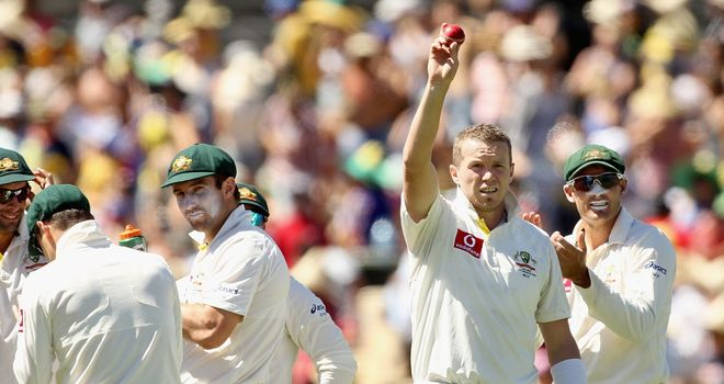 Peter Siddle: Australia seamer claimed 5-49 on day three in Adelaide