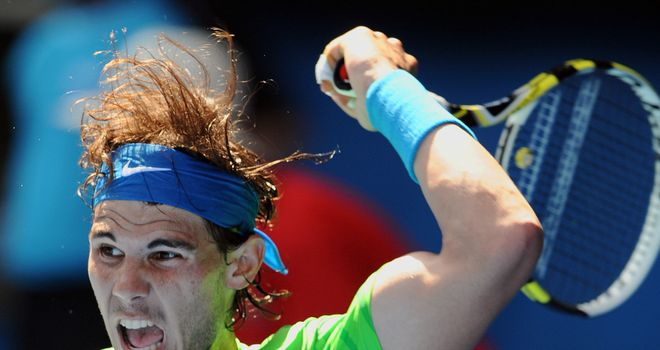 Rafael Nadal: Had few problems against Tommy Haas