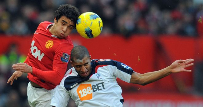 Rafael da Silva: Pleased with the understanding he has with Antonio Valencia on and off the pitch
