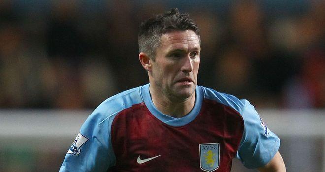 Robbie Keane: Joined Villa on a two-month loan from MLS side LA Galaxy