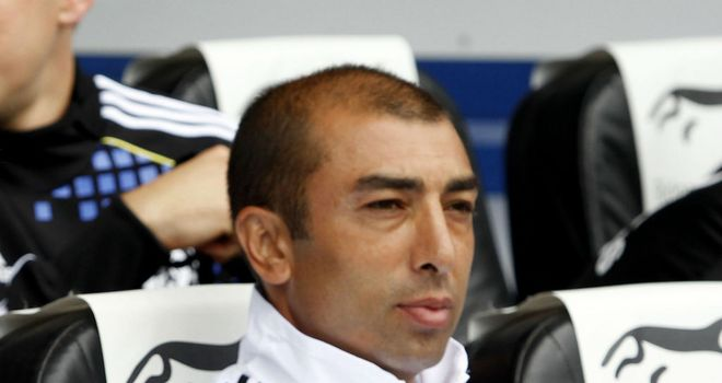 Roberto Di Matteo: Hoping to guide Chelsea into the FA Cup quarter-finals