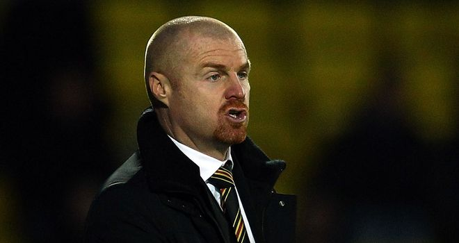 Sean Dyche: Has told Newcastle to make new bid