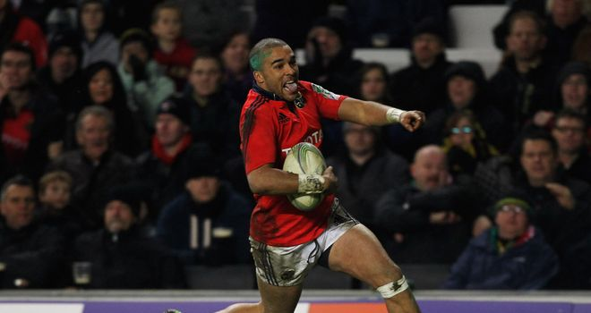 Simon Zebo: second-half hat-trick