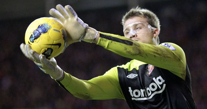 Simon Mignolet: Determined that Sunderland keep on the ball and finish season strongly