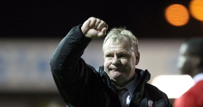 Steve Evans: Hails 'great night'