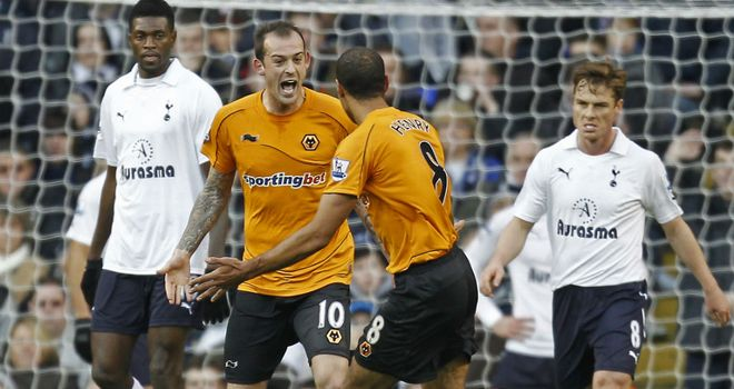 Steven Fletcher: Set Wolves on the way to a precious point at White Hart Lane