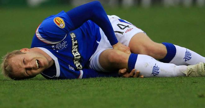 Steven Naismith: Suffered anterior cruciate ligament damage in October
