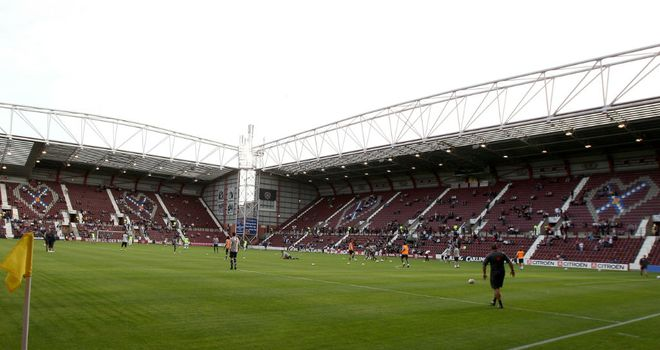 Hearts have stated that a small number of senior players were unpaid but will be paid shortly