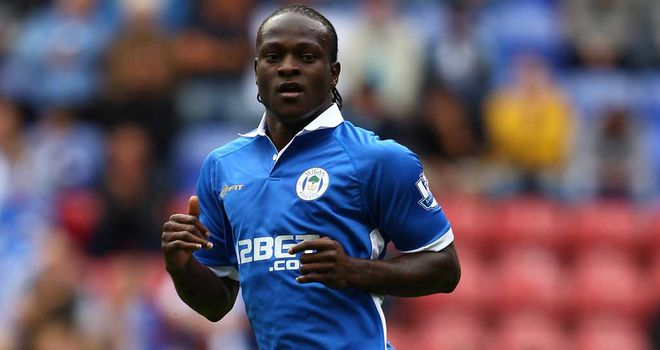 Victor Moses: The winger is a big asset for Wigan but contract talks are currently on hold