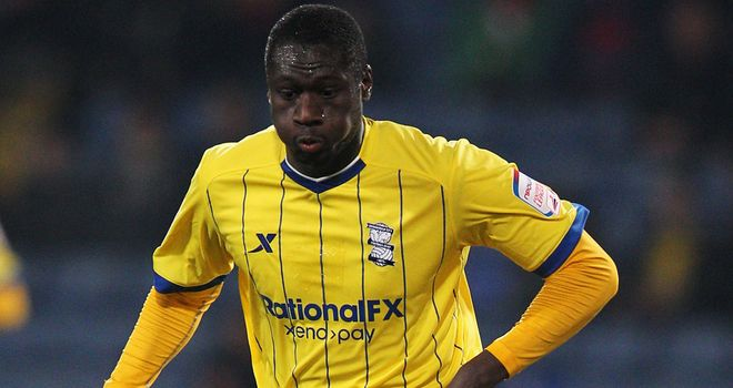 Guirane N'Daw: Has joined Tractor Boys on season-long loan deal