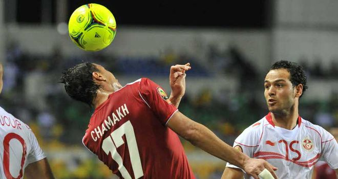 Chamakh: Struggling with fever
