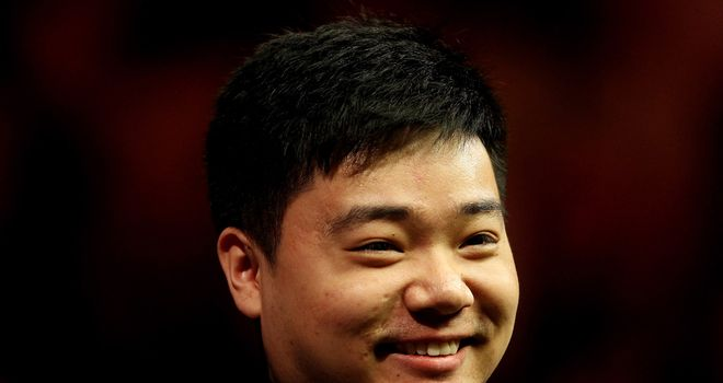 Ding Junhui: Held off a dogged Michael Holt