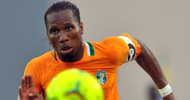 Didier Drogba: Scored the only goal of the game against Sudan