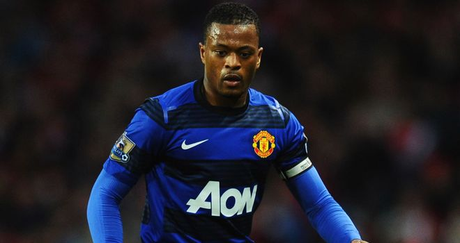 Patrice Evra: Sir Alex Ferguson has indicated the defender will play