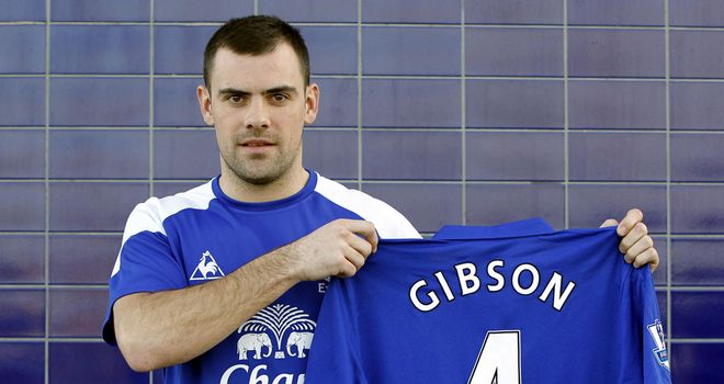 Darron Gibson: Took advice from Wayne Rooney, Tim Cahill and Phil Neville before joining Everton