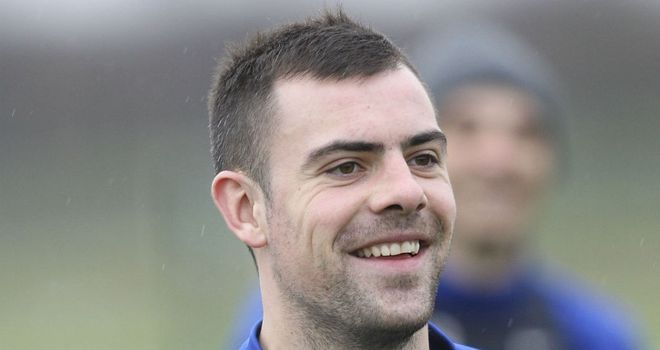 Darron Gibson: Has fallen out of favour at Manchester United