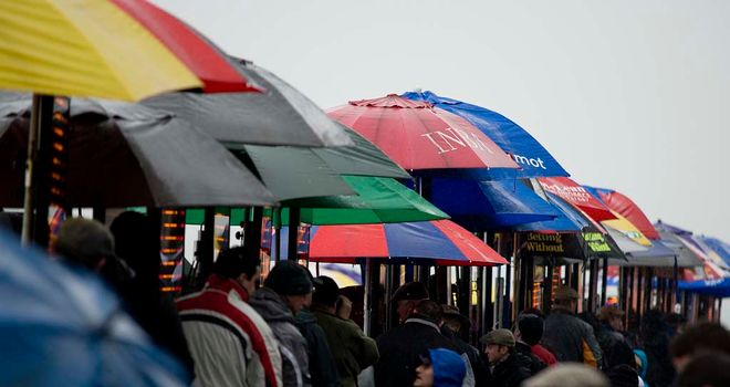 Leopardstown: Hopeful they'll beat the weather