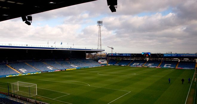 Fratton Park: Cash-strapped Portsmouth entered administration in February