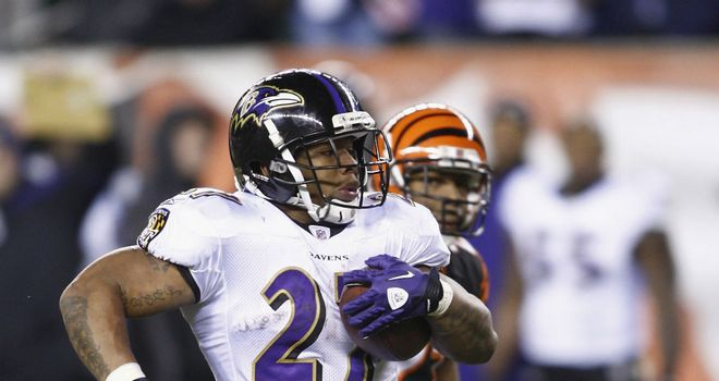 Ray Rice: consistent record of success in Baltimore