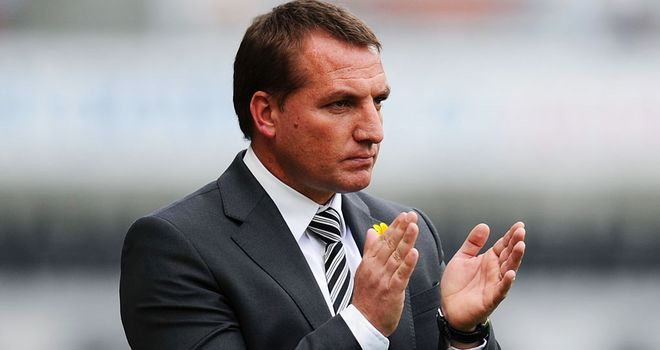 Brendan Rodgers: Swansea boss impressed his side have lost just twice at home all season