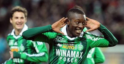 Max Gradel: Scored twice for Saint-Etienne