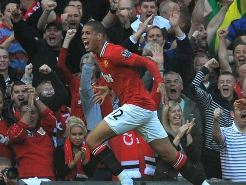 Chris Smalling: Back in non-contact training