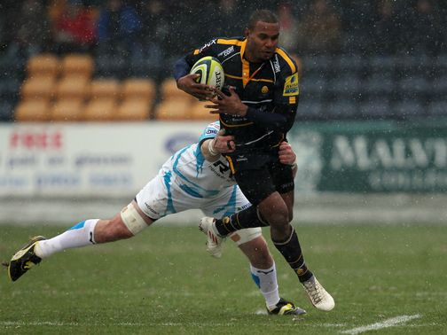 Josh Drauniniu: Hat-trick of tries for Worcester