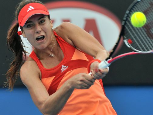 Sorana Cirstea: Slumped to defeat in Hobart