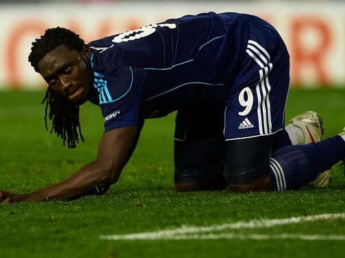 Kenwyne Jones: Led the line for Stoke agaisnt West Brom