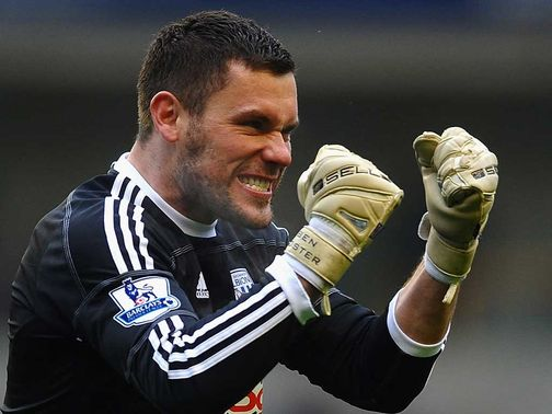 Ben Foster: Happy to sign for the Baggies