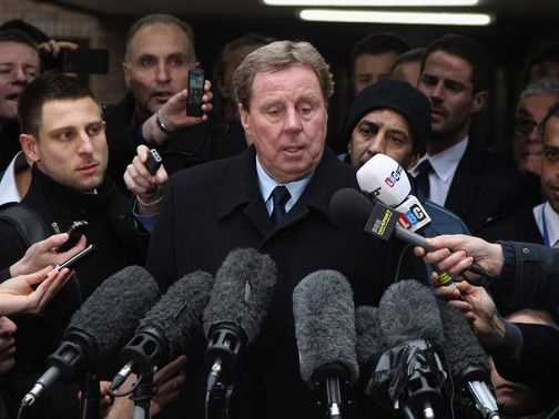 Harry Redknapp: Cleared of all charges of tax evasion