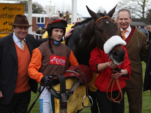 Long Run: Second in the Betfair Chase last season