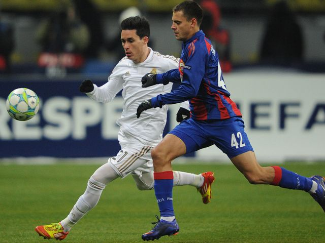 Callejon (left) believes Real Madrid are now moving in the right direction