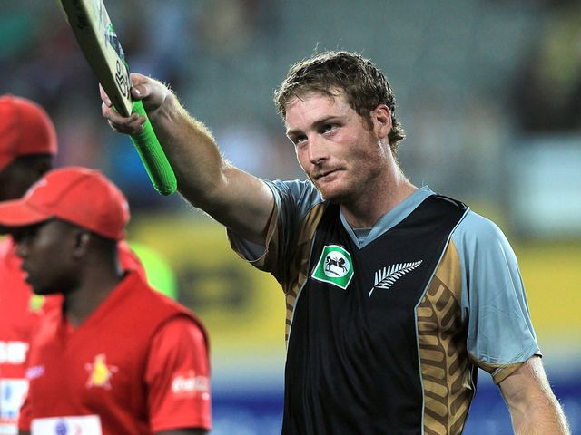 Martin Guptill: Unbeaten on 91