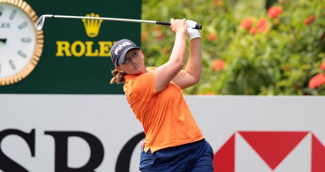 Angela Stanford: Leading after the second round of the Lorena Ochoa Invitational