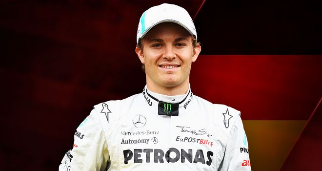 Nico Rosberg: on a level playing field with teammate Schumacher