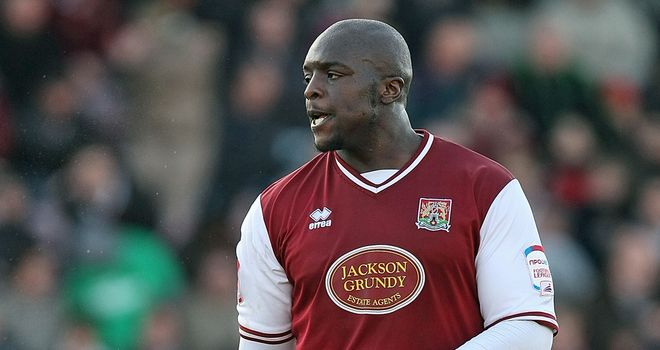 Adebayo Akinfenwa: Northampton striker scored a hat-trick against Accrington