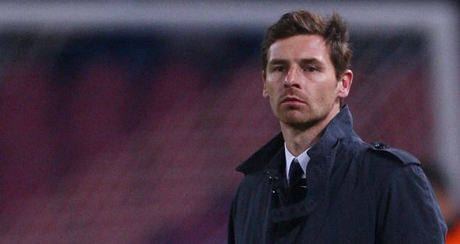 Andre Villas-Boas: Under pressure at Stamford Bridge but has Owen Coyle's backing