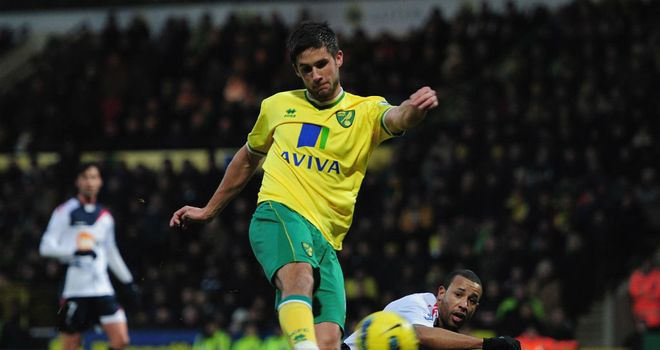 Andrew Surman: Enjoying a rich vein of form for the Canaries